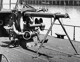 3 inch / 50 cal submarine deck gun